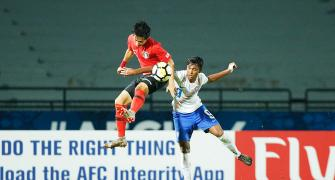Gritty India edged out by Korea, fail to qualify for FIFA U-17 WC