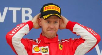 Vettel does the maths and decides he still has a chance at F1 title