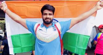Asian Para Games: Javelin thrower Sandeep smashes world record