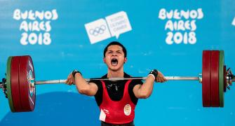 Mizo weightlifting sensation wins India's first Youth Olympics gold