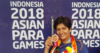Bronze for Deepa Malik at Asian Para Games