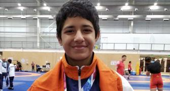 Wrestler Simran wins silver at Youth Olympics