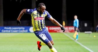 Usain Bolt creating quite a buzz for A-League