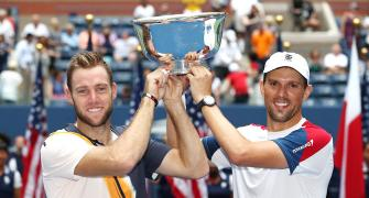 Americans Bryan-Sock win US Open doubles title