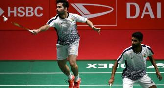 Japan Open: Manu-Sumeeth shock Olympic silver medallists