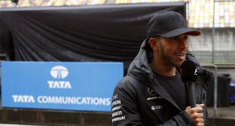 The sole Indian on the F1 grid