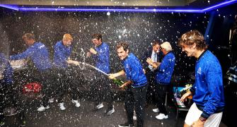 PIX: Team Europe retain Laver Cup after epic finale!