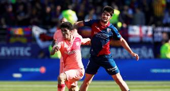 La Liga: Makeshift Barca draw with Huesca