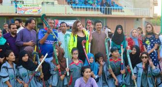 Pak actress working on reviving Pakistan hockey