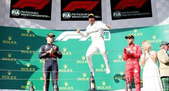Hamilton wins in Hungary after hunting down Verstappen