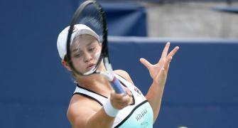 Tennis: Barty's top rank under threat after shock loss