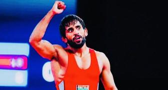 Bajrang continues golden run; Vinesh in final