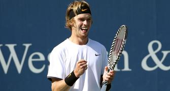 Russian qualifier Rublev routs Federer in 62 minutes