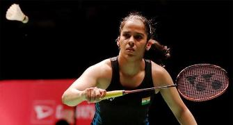 Saina bows out of Badminton Worlds