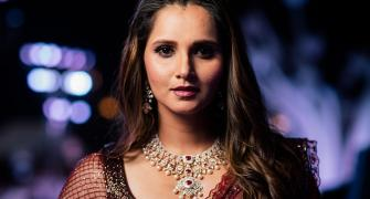 PIX: Sania Mirza steals the show at sister's wedding