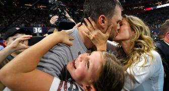 AMAZING Super Bowl PIX: Families take centre-stage as Patriots win