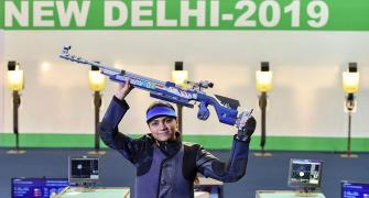 How Chandela shot her way to gold at World Cup