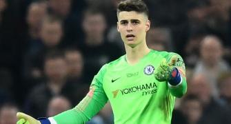 Kepa-Sarri fallout: Chelsea keeper fined one week's wages