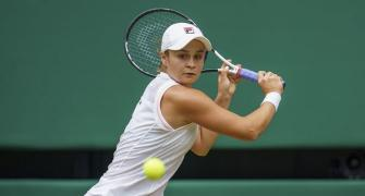 Classy Barty eases into week two at Wimbledon