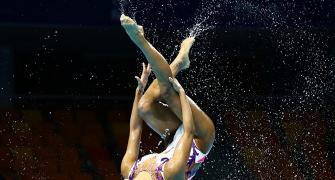 Stunning pics from the FINA World Swim Championships