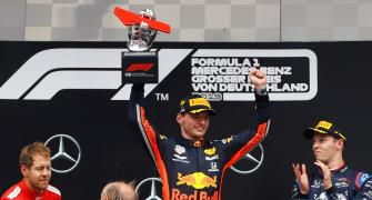 The German Grand Prix was a wet and wild epic