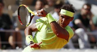 French Open: Rafa happy about another birthday at work