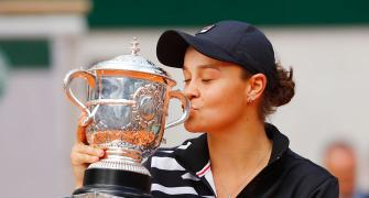 Barty wins maiden Grand Slam with French Open title