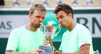 Unseeded Krawietz and Mies win men's doubles title