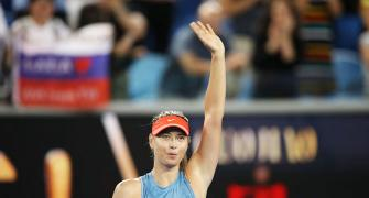 Sharapova inspired by 'ultimate fighter' Nadal