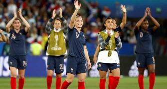 France a big hit at Women's World Cup!