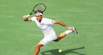 SEE: Federer wows fans with video of trick shots