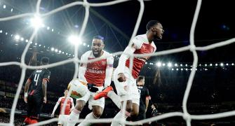 Europa League PHOTOS: Arsenal join Chelsea in quarters, Inter out