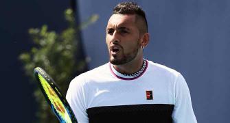 Tennis: Kyrgios hits back at Coric