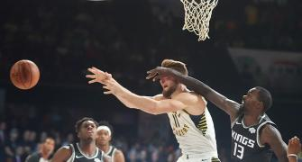 NBA India Games: Pacers rout Kings in second friendly