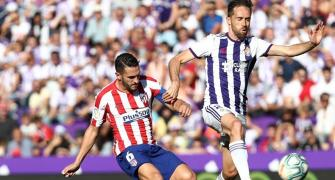 Atletico held to third draw in four La Liga games