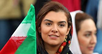 Iranian women attend first soccer match in 40 years