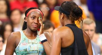 Gauff loses match but learns lessons from Osaka