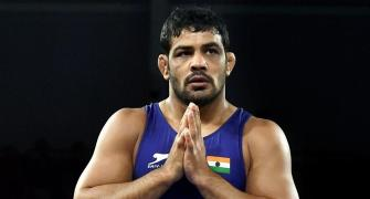 Sushil's World Championship return lasts just one bout