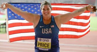 Price first American woman to win hammer World title