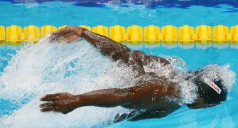 Swimmer Prakash says lockdown 'lucky' for him