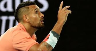 'Slim to no chance' of playing French Open: Kyrgios