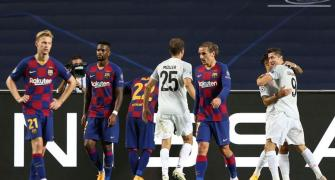 End of an era after Barca suffer 'painful' defeat