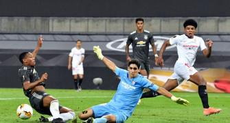 6 Saves! And he ended ManU's Europa League stay