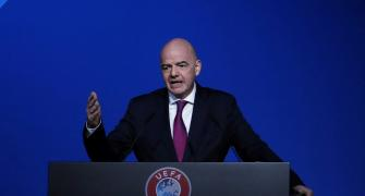 FIFA's ethics committee clears Infantino