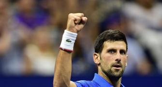 Pursuit of Federer's record spurred Djokovic