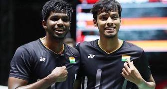 Olympics Badminton: Chirag-Satwik stun world No 3
