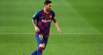 Playing without fans horrible, says Messi