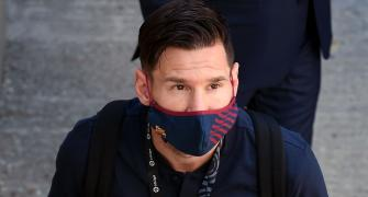 Messi to stay at Barcelona, slams club prez