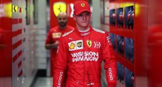 Schumi Jr's dream comes true as he begins F1 journey