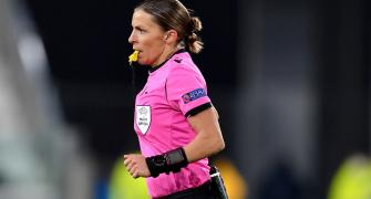 Meet the first woman referee in Champions League